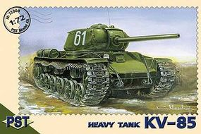 PST KV85 Soviet Heavy Tank Plastic Model Tank Kit 1/72 Scale #72008
