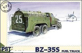 PST BZ35s Fuel Truck Plastic Model Military Truck Kit 1/72 Scale #72043