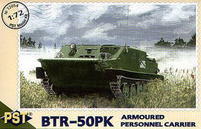 PST BTR50PK Armored Personnel Carrier Plastic Model Tank Kit 1/72 Scale #72054