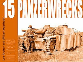 Panzerwrecks Books Panzerwrecks #15 German Armour 1944-45