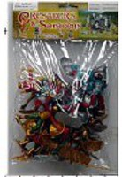 Playsets 1/32 Crusaders & Saracens Figure Playset (12 w/Weapons & 4 Camels) (Bagged)