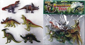 Playsets 1/32 Dinosaurs (6/Bag)