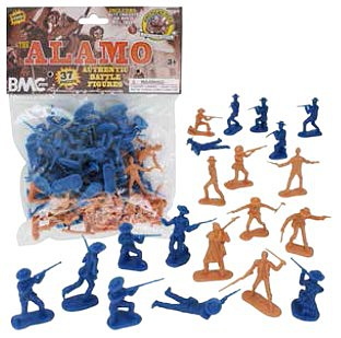 Playsets 54mm Alamo Figure Playset (37pcs) (Bagged) (BMC Toys)