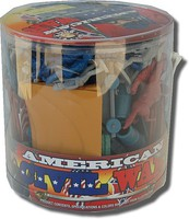 Playsets 1/32 American Civil War Playset (73pcs/Tub) (6 Tubs/Case) (Billy V)