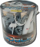 Playsets 1/32 Space Exploration Playset (55pcs/Tub) (6 Tubs/Case) (Billy V)