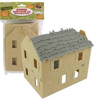 Playsets 54mm Bombed Farm House (BMC Toys) (Re-Issue)
