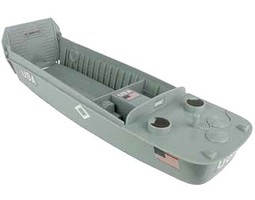 Playsets 54mm Landing Craft (Grey) (BMC Toys)