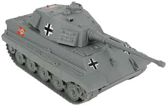 Playsets 54mm Tiger Tank (Grey) (BMC Toys)