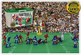 Playsets Football Guys Action Playset Red/Blue (27 2 Figures, Acc & Carry Case) (Kaskey)