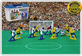 Playsets Soccer Guys Action Playset Blue/Yellow (27 2 Figures, Acc & Carry Case) (Kaskey)