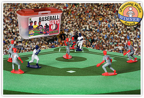 Playsets Baseball Guys Action Playset White/Grey (27 2 Figures, Acc & Carry Case) (Kaskey)
