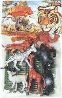 Playsets 1/32 Wild Animals Playset (11pcs) (Bagged)