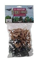 Playsets 1/32 US Military Strike Force Soldiers Playset (48) (Bagged)