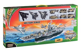 Playsets Aircraft Carrier Playset (Plastic w/Die Cast Access) (Daron)