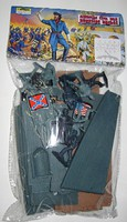 Playsets 54mm Civial War Burnside Bridge & Figures Playset (13pcs) (Bagged) (Americana)