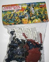 Playsets 54mm Civil War Figures & Accessories Playset (49pcs) (Bagged) (Americana)