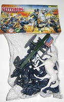 Playsets 54mm Gettysburg Union Figure Playset (12pcs) (Bagged) (Americana)