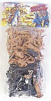 Playsets 54mm Little Big Horn Figure Playset (50pcs) (Bagged) (Americana)