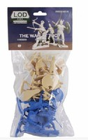 Playsets 1/32 The War at Troy Set #1 Figure Playset- Greeks & Trojans (16) (Bagged) (LOD Enterprises)