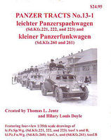 Panzer Tracts No.13-1 SdKfz 221, 222, 223 & SdKfz 260, 261 Military History Book #131