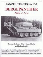 Panzer-Tracts Panzer Tracts No.16-1 Bergepanther Ausf D/A/G Military History Book #161