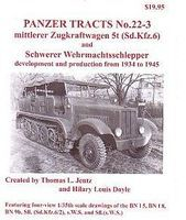 Panzer-Tracts Panzer Tracts No.22-3 mZgkw 5t (SdKfz 6), sWS & Variants Military History Book #223