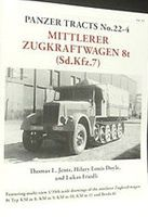 Panzer-Tracts Panzer Tracts No.22-4 mZgkw 8t (SdKfz 7) Military History Book #224