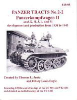 Panzer-Tracts Panzer Tracts No.2-2 PzKpfw II Ausf G/H/J/L/M Military History Book #22
