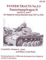 Panzer-Tracts Panzer Tracts No.2-3 PzKpfw II Ausf D/E/F Military History Book #23