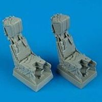 Quickboost F/A18D Ejection Seats w/Safety Belts (2) Plastic Model Aircraft Accessory 1/32 #32028