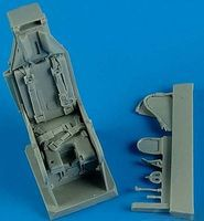 Quickboost A4 Ejection Seat w/Safety Belts Plastic Model Aircraft Accessory 1/32 Scale #32136