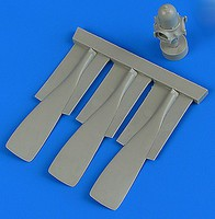 Quickboost 1/32 T28 Trojan B Propeller for KTY