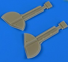 Quickboost 1/32 Spitfire Mk Ixc Undercarriage Covers for RVL