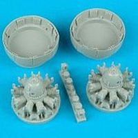 Quickboost A26B/C Invader Engines for RMX Plastic Model Aircraft Accessory 1/48 Scale #48062