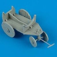 Quickboost WWII German Fuel Tank Cart Plastic Model Aircraft Accessory 1/48 Scale #48102