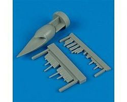 Quickboost F6F3N Conversion Set for Eduard Plastic Model Aircraft Accessory 1/48 Scale #48185
