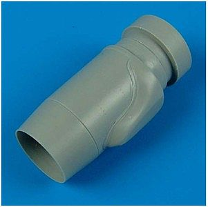 Quickboost A4 IDF Skyhawk Exhaust Nozzle for HSG -- Plastic Model Aircraft Accessory -- 1/48 Scale -- #48247
