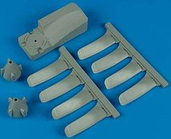 Quickboost 1/48 E2C Propellers w/Jig Tool for KIN & ITA