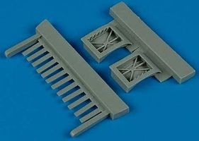 Quickboost F5E Tiger II Auxilliary Intakes for AFV Plastic Model Aircraft Accessory 1/48 Scale #48343