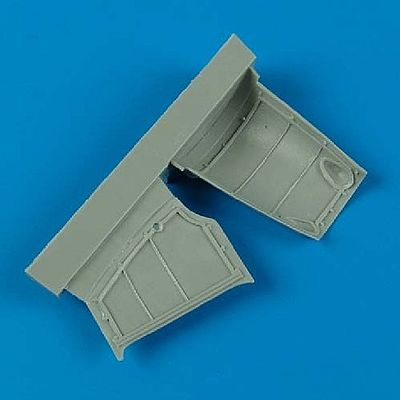 Quickboost Hawker Hurricane Mk I Engine Covers Plastic Model Aircraft Accessory 1/48 #48436