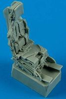 Quickboost F104C/J Ejection Seat w/Safety Belts Plastic Model Aircraft Accessory 1/48 Scale #48504