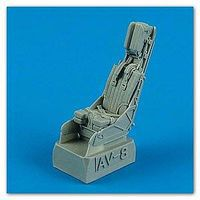 Quickboost Av8B Seat w/Safety Belts Plastic Model Aircraft Accessory 1/48 Scale #48522