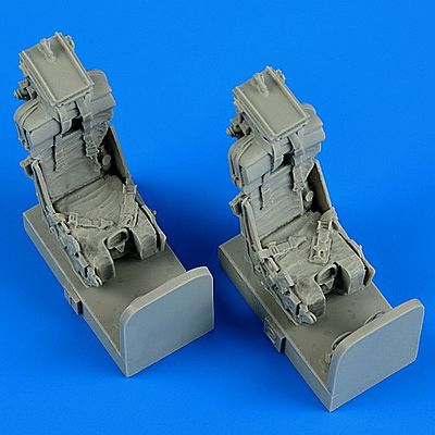 Quickboost OV1 Mohawk Ejection Seats w/Safety Belts Plastic Model Aircraft Accessory 1/48 #48606