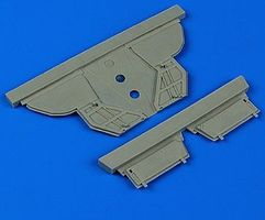 Quickboost F101A/C Voodoo Undercarriage Cover for KTY Plastic Model Aircraft Accessory 1/48 #48629