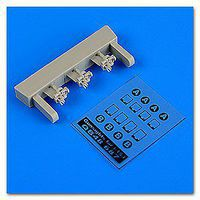 Quickboost I153 Chaika Gun Sights for ICM Plastic Model Aircraft Accessory 1/48 Scale #48687