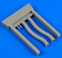 Quickboost Gloster Gladiator Exhaust for ROD & EDU Plastic Model Aircraft Accessory 1/48 #48695