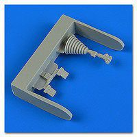 Quickboost Su25K Frogfoot Control Lever & Pedals Plastic Model Aircraft Accesso 1/48 #48722