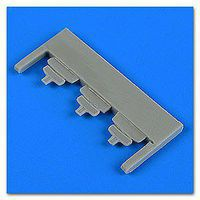 Quickboost Su25K Frogfoot Mirrors for SME & KPM Plastic Model Aircraft Accessory 1/48 Scale #48723