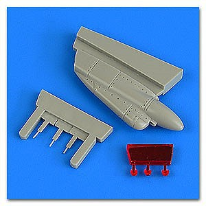 Quickboost 1/48 F14A/B Tomcat Chin Pod Early Version for TAM