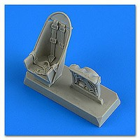 Quickboost 1/48 JuB Stuka Seats w/Safety Belts
